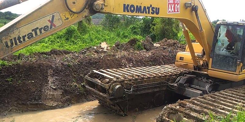 Восстановление Komatsu